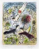 166A: Chagall, Marc, Signed Original Lithograph