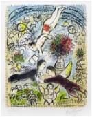 166A: Chagall, Marc, Signed Original Lithograph
