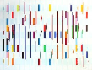Agam, Yaacov, Signed Original Screenprint