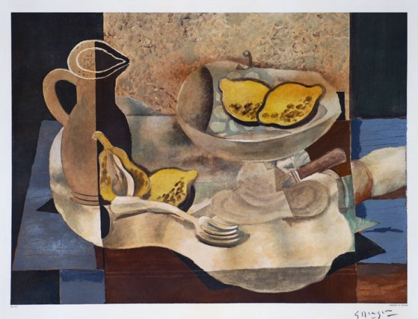 Braque, Georges, Original Lithograph