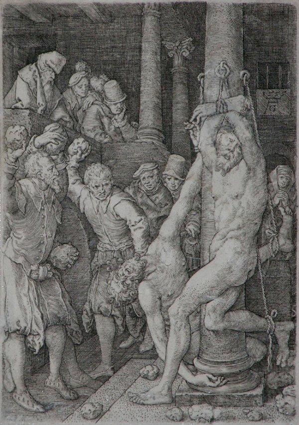 109C: Aldegrever, Heinrich, Original Engraving
