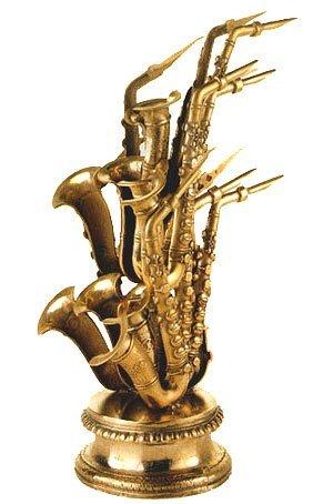 111C: Arman, Signed Original Bronze Sculpture