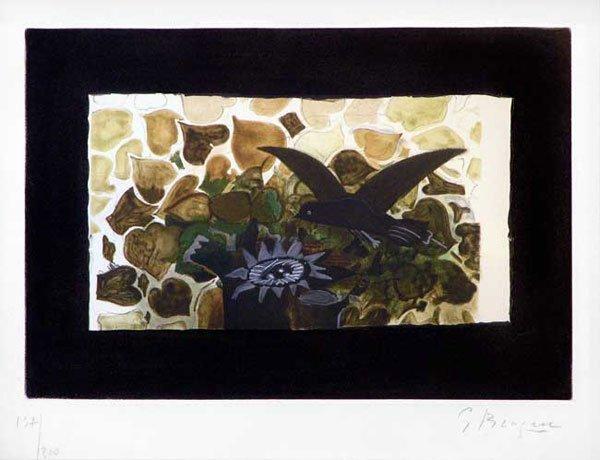 113C: Braque, Georges, Signed Original Etching