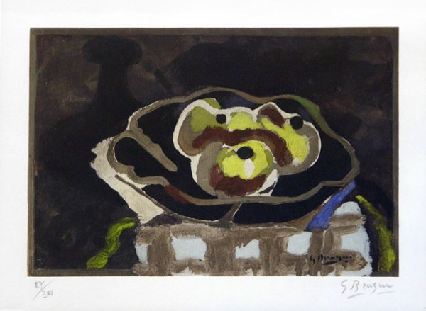 114C: Braque, Georges, Signed Original Lithograph