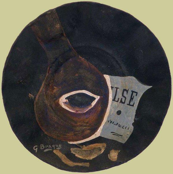 Braque, Georges, Signed Original Ceramic Sculpture