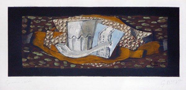 116C: Braque, Georges, Signed Original Etching Aquatint