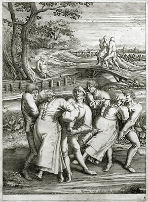 119C: Brueghel the Elder, Pieter, Original Engraving
