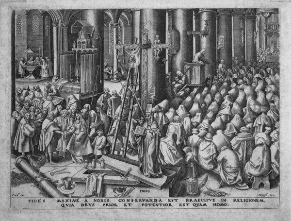 121C: Brueghel the Elder, Pieter, Original Engraving