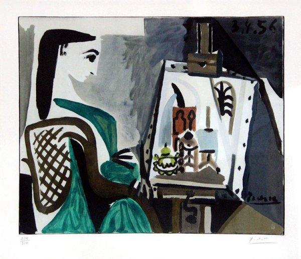 347C: Picasso, Pablo, Signed Original Lithograph