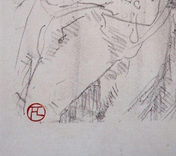 392C: Toulouse-Lautrec, Hand signed Original Lithograph - 3