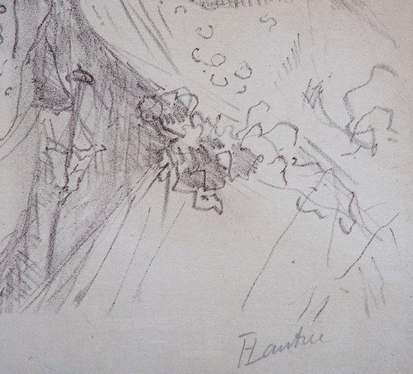 392C: Toulouse-Lautrec, Hand signed Original Lithograph - 4