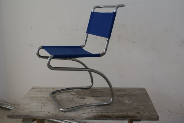 "4:  ""Jindrich HalabalaSteel tube chair, model no. H-79,"