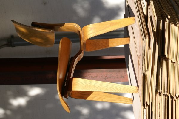 "10:  ""Charles and Ray Eames""""DCW Chair"""", 1946 for Evan"