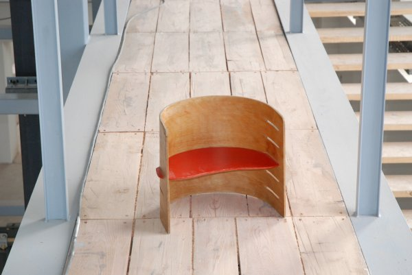 "17:  ""Kristian VedelAdjustable Children's Chair, 1957,"