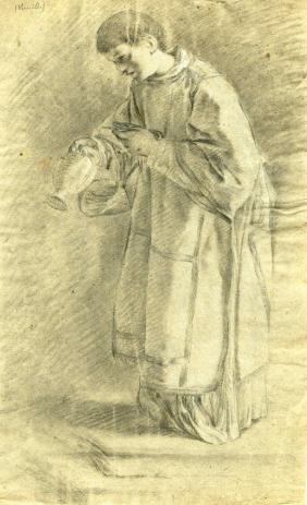 181: BARTOLOME ESTEBAN MURILLO - Priest with an Urn
