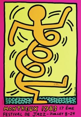 259: KEITH HARING - Montreux [Jazz Festival] 1983 -