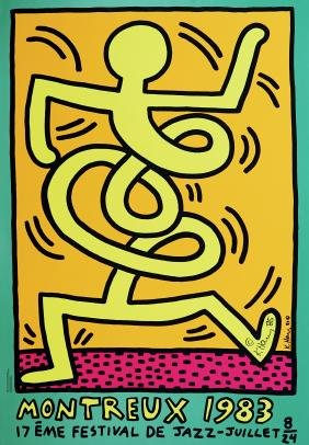260: KEITH HARING - Montreux [Jazz Festival] 1983 -