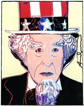 660: ANDY WARHOL - Uncle Sam