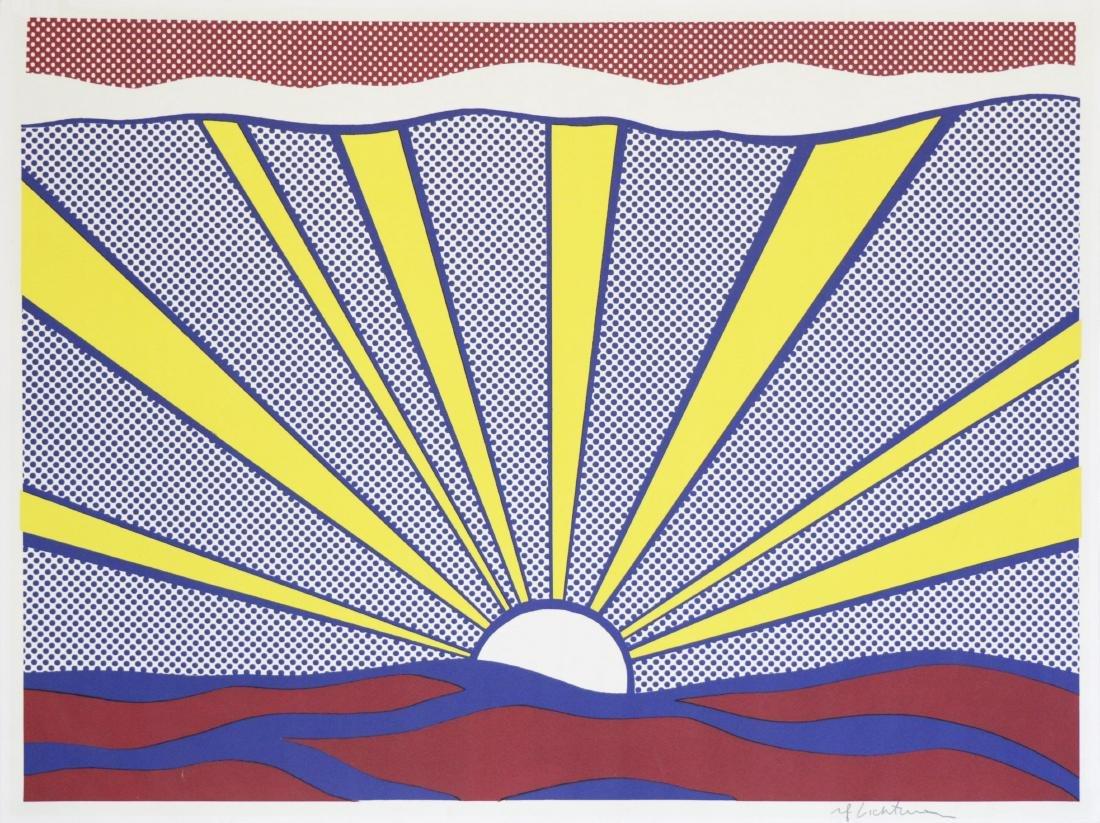 716: ROY LICHTENSTEIN - Sunrise