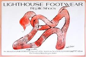 914: ANDY WARHOL - Lighthouse Footwear Reptile Shoes