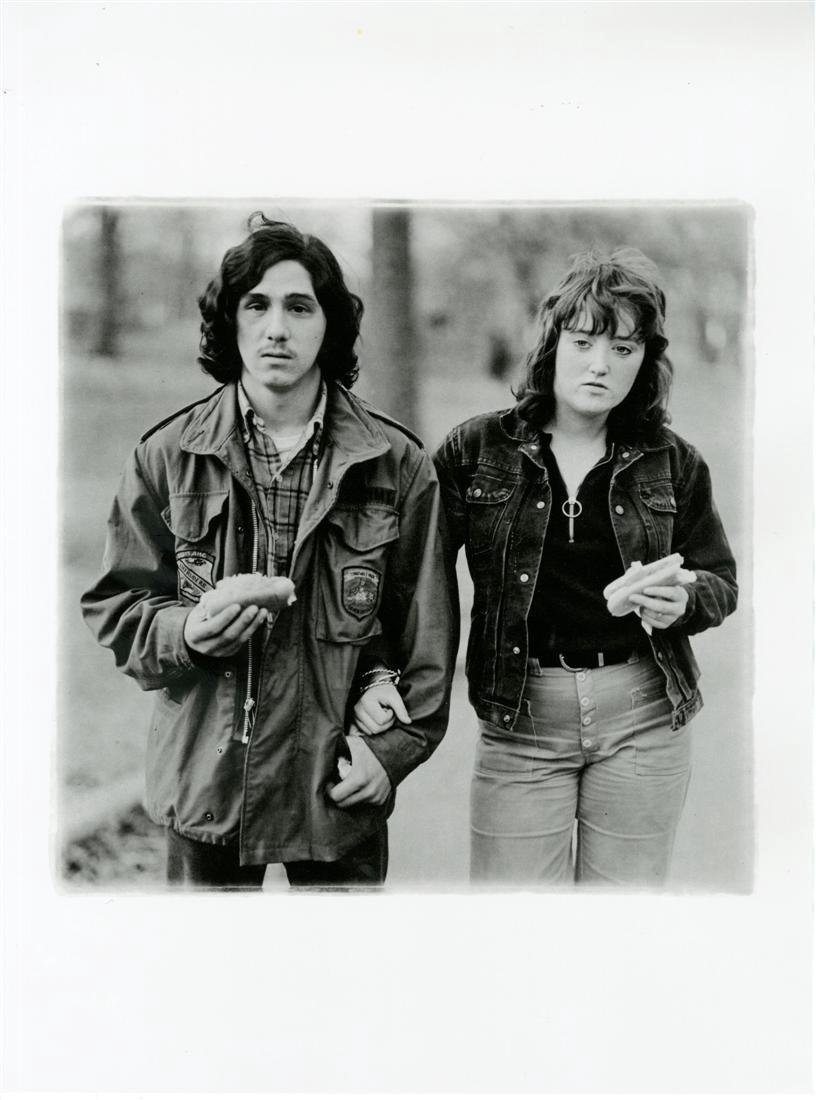 1201: DIANE ARBUS - Young Man and His Girlfriend with