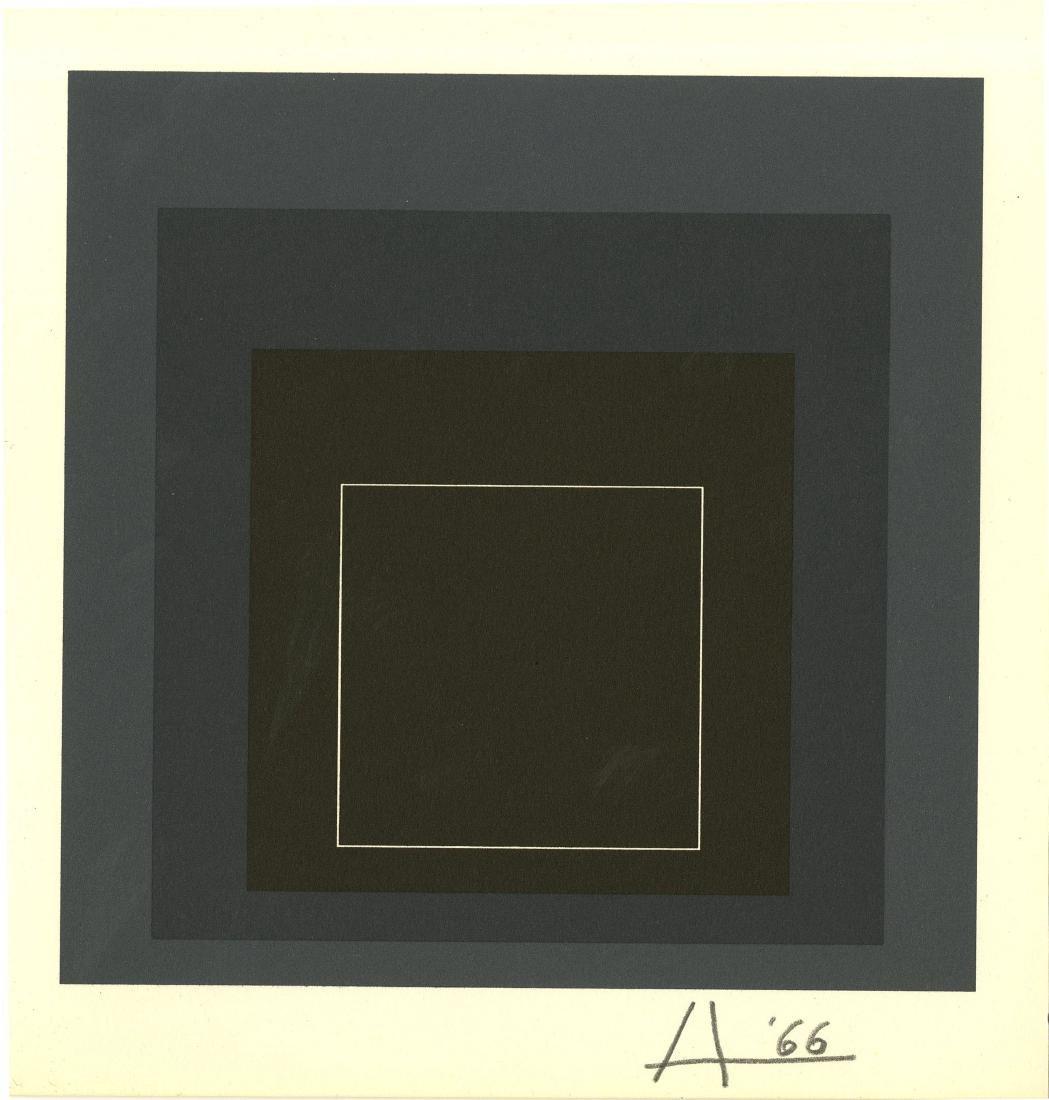 1203: JOSEF ALBERS - White Line Square VIII-b