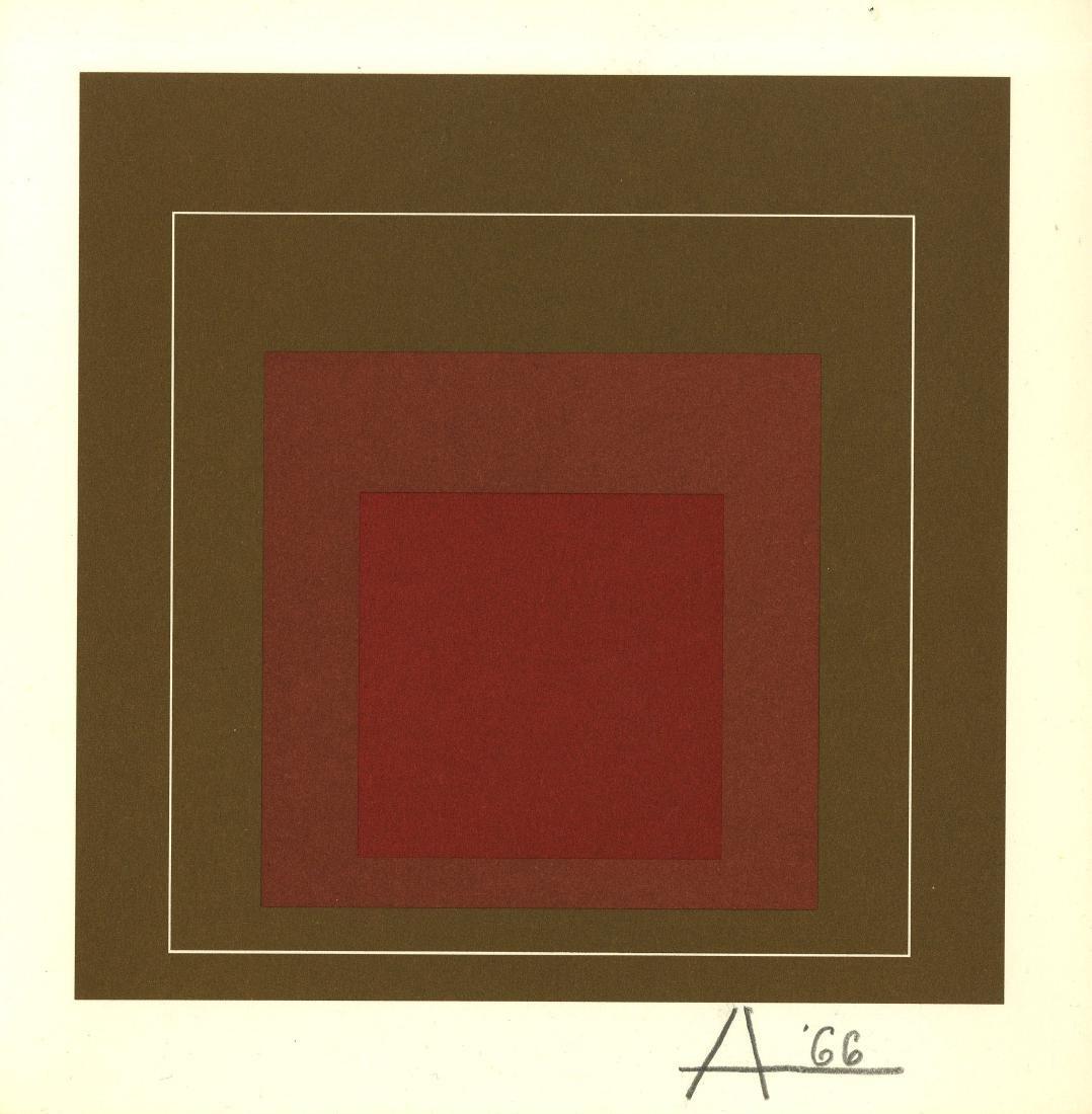 1204: JOSEF ALBERS - White Line Square IV (miniature