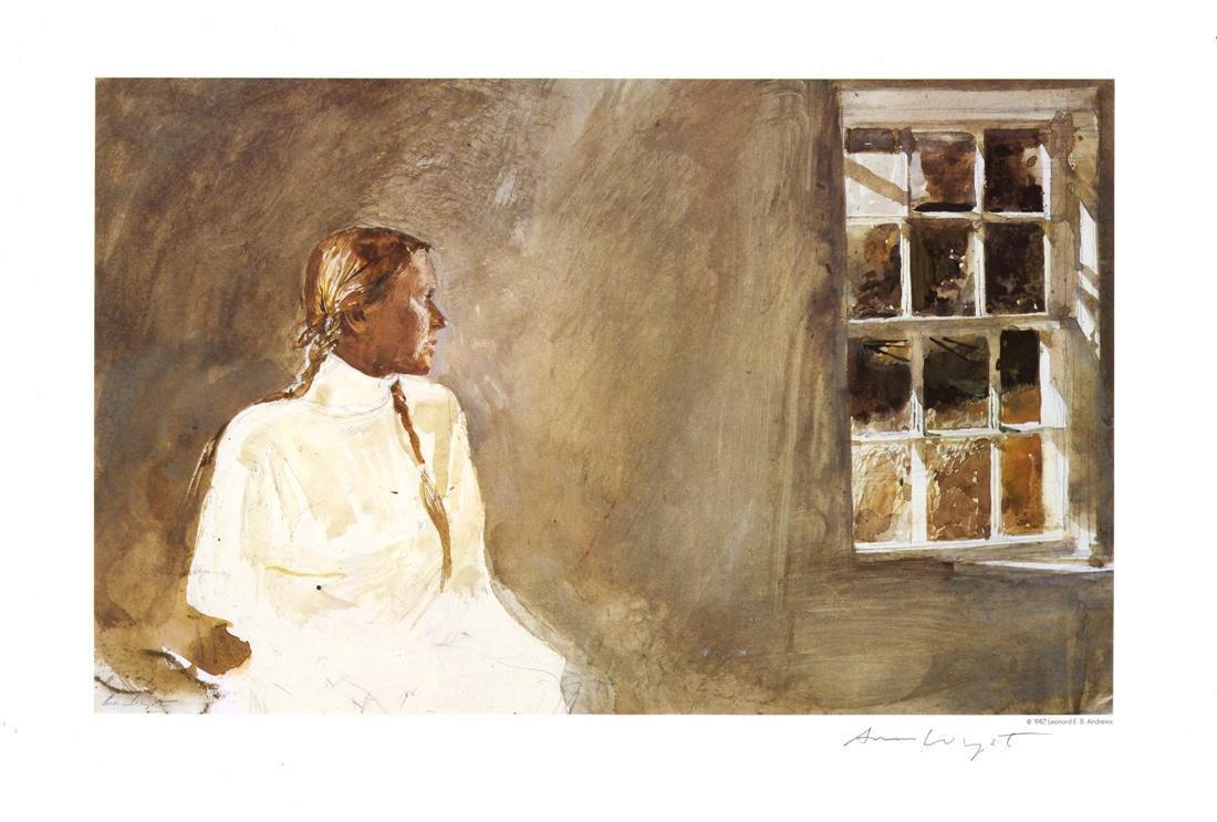 1205: ANDREW WYETH [d'apres] - White Dress
