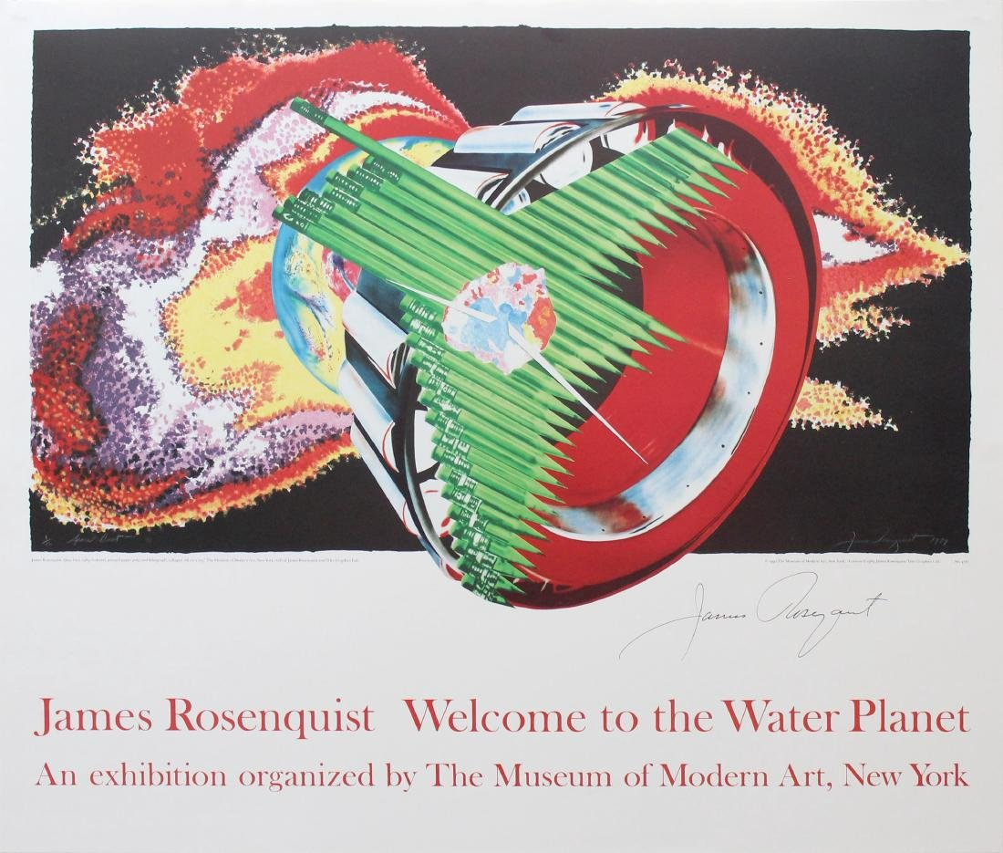 1206: JAMES ROSENQUIST - Weclome to the Water Planet: