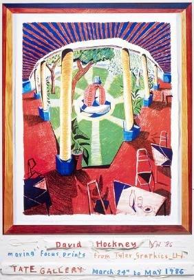 1209: DAVID HOCKNEY - Views of Hotel Well III
