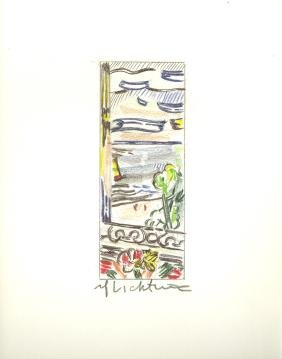 1210: ROY LICHTENSTEIN - View from the Window