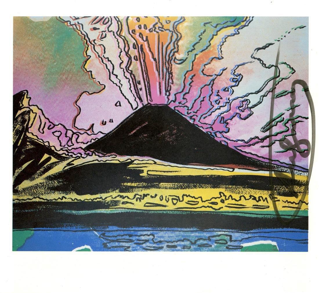 1212: ANDY WARHOL - Vesuvius #13