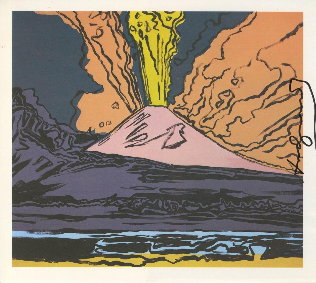 1213: ANDY WARHOL - Vesuvius #11
