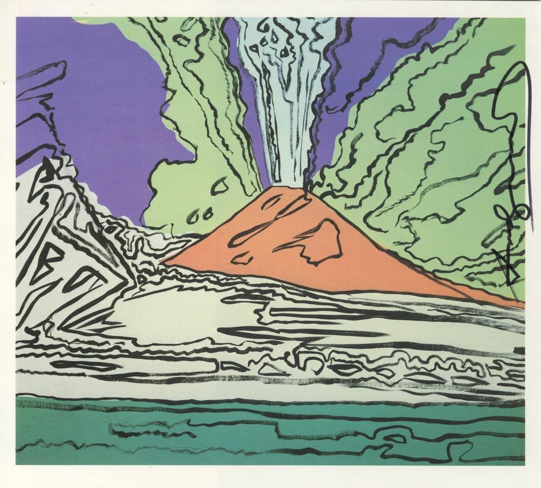 1214: ANDY WARHOL - Vesuvius #09