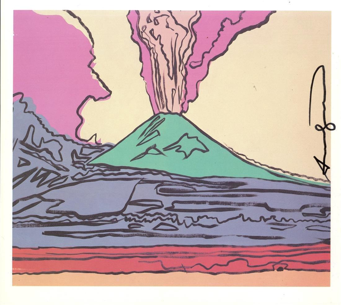 1215: ANDY WARHOL - Vesuvius #07