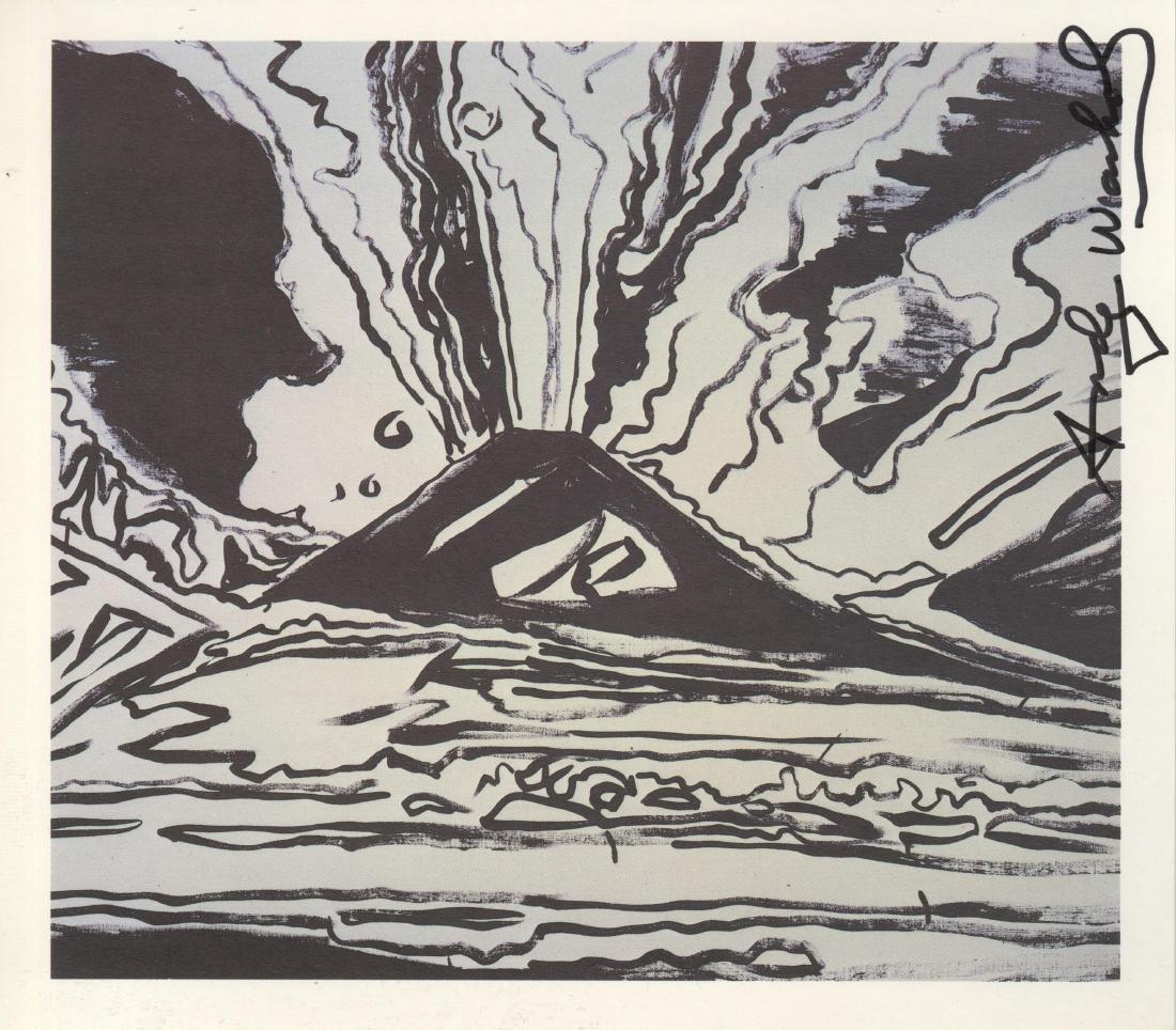 1216: ANDY WARHOL - Vesuvius #05