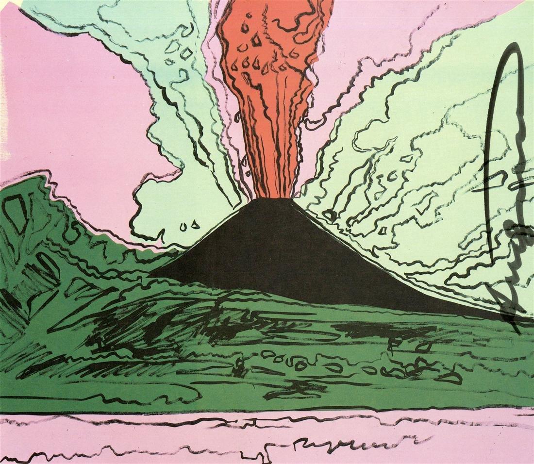 1217: ANDY WARHOL - Vesuvius #03