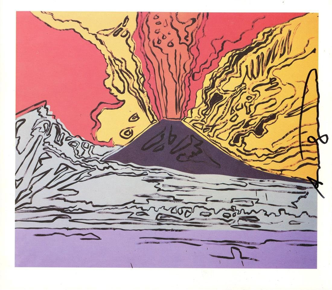 1218: ANDY WARHOL - Vesuvius #01