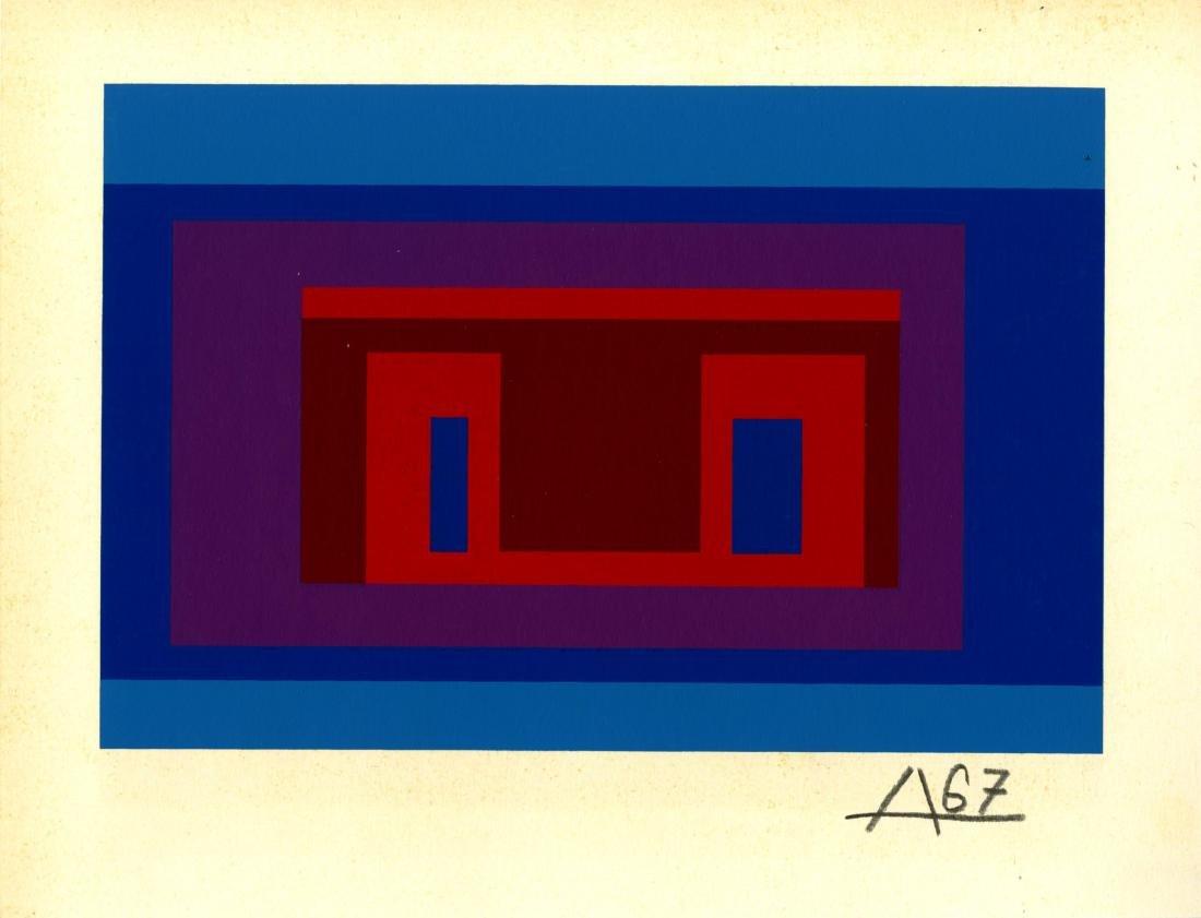 1220: JOSEF ALBERS - Variant IX (miniature edition)