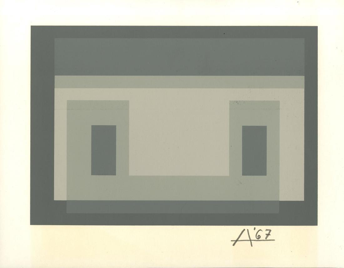 1222: JOSEF ALBERS - Variant III (miniature edition)