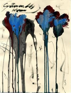 1224: CY TWOMBLY - Untitled Study (#1)