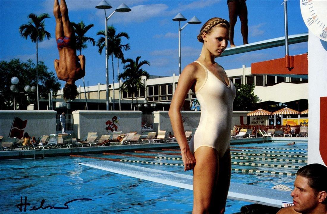 1244: HELMUT NEWTON - University of Miami, Fashion, New