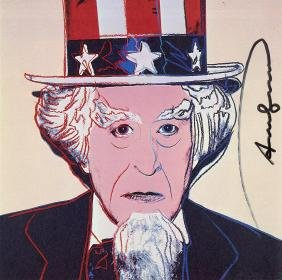 1246: ANDY WARHOL - Uncle Sam