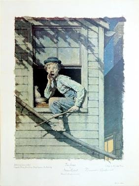 1257: NORMAN ROCKWELL - Tom Sawyer: He Meow'd…