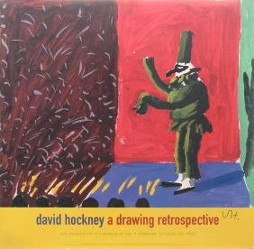 1386: DAVID HOCKNEY - Punchinella with Applause