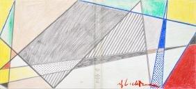 1592: ROY LICHTENSTEIN - Imperfect Drawing for