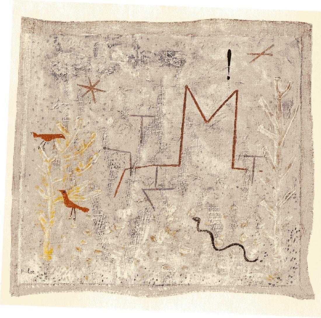 "1: PAUL KLEE - ""M"" Garden Gate [""Portail du jardin M""]"