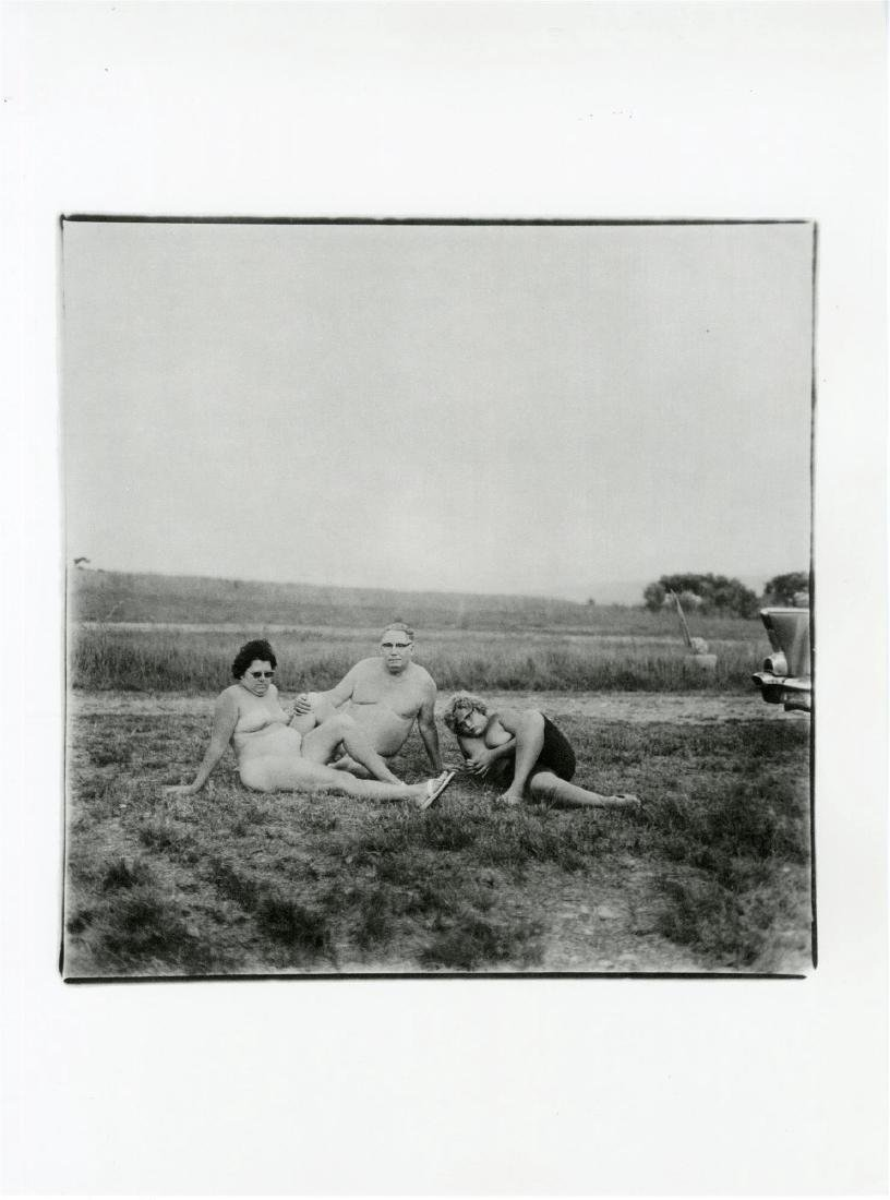 4: DIANE ARBUS - A Family One Evening in a Nudist Camp,