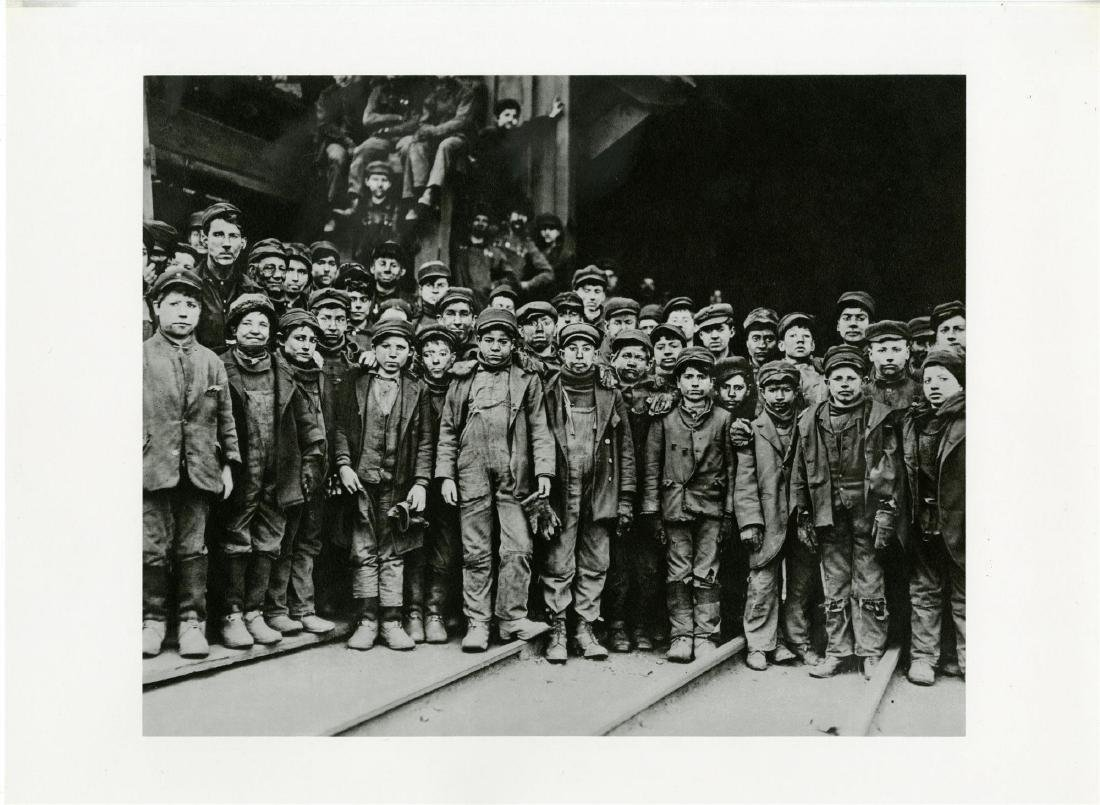 6: LEWIS HINE - A Group of the Youngest Coal Breaker