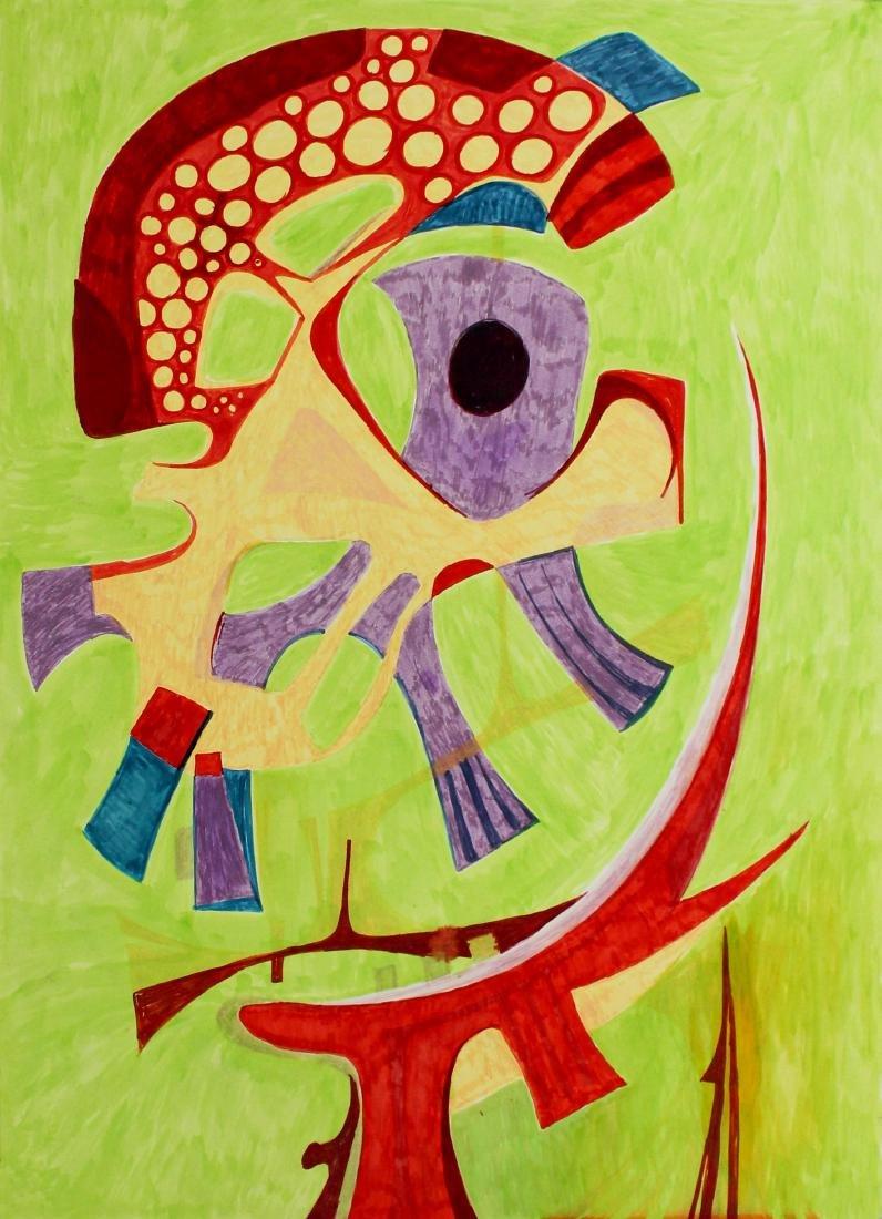 8: PEDRO CORONEL - Abstraction 'B'